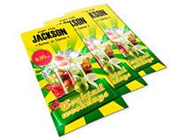 Flyer @ Jackson night club