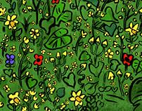 Garden of Hedgehog- Colour Collective 27/04/18