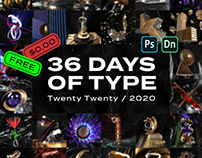 36 DAYS OF TYPE | 2020