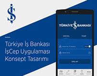 İşCep Mobile Finance App Concept Design