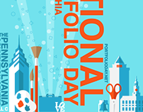 National Portfolio Day - Poster