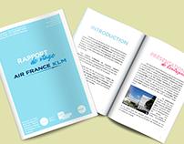 Print - Rapport de stage et infographies