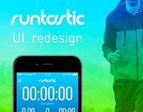 Runtastic UI redesign