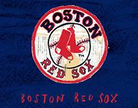 Boston Red Sox illustration.