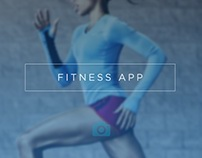 Fitness App Template Design