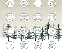 Winter Forest Theme