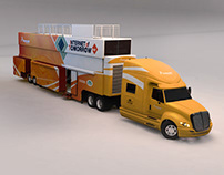 Freescale NXP 3D Trailer Renders