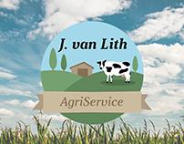 Logo J. van Lith AgriService