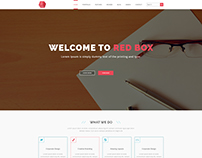 One Page Multipurpose PSD Template V 06