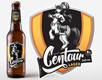 Centaur Lager, Craft Beer Branding