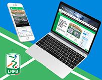 Lega Nazionale Professionisti B - Web & Mobile Redesign