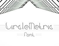 Custom Font Design - CircleMetric