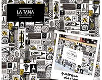 DESIGN FOR RESTAURANT WINDOW LA TANA