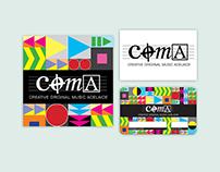 COMA - Creative Original Music Adelaide, Logo/Branding