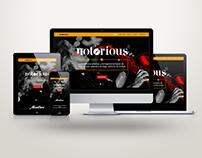 Diseño Web -  Notorious