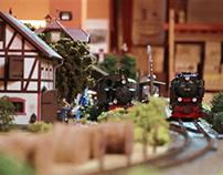 La piazza della stazione