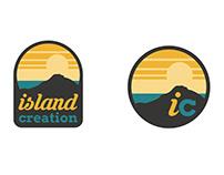 Island creation logo