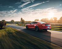 Ford Mustang GT - Red