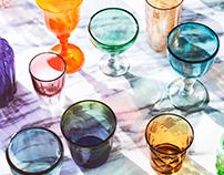 Graphic Glassware