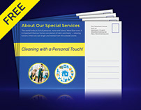 Cleaning Services Standard Postcard