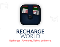 Recharge World Mobile App