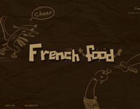 French Food web design