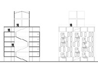 Social house. Student project