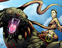 Okira and Cinder: Celflux The Graphic Novel