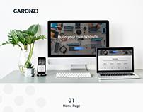 Garonz website 2