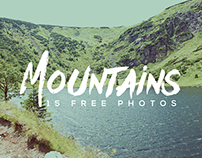 15 Free Mountains Photos
