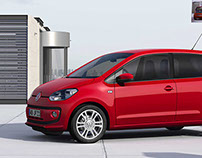 VW Up! 4 door Illustration