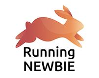 Running newbie - logo http://www.runningnewbie.com/