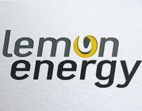 Logo lemon energy, graphiste loolye labat