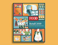 FOOD Editore - Cover Illustrations