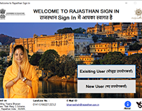 Rajasthan Sign In (Windows Application for Raj. Govt.)