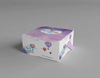 "Разработка логотипа и упаковки для  ""Best baby box"""