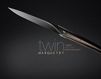 TWIN Marquetry Knife