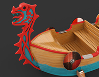 Dragon Wizard Boat concept