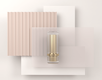 HIDDEN makeup products packaging concept