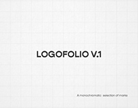 Logofolio v.I | A monochromatic logo collection