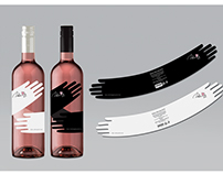 Brand identity, Packaging design, Dolce Vita rose wines