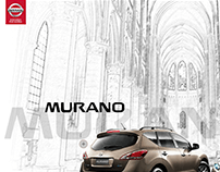 Nissan Murano website and interactive experience