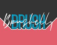 Brushelly SVG Brush Font
