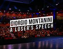 """INTRO to """"A loser's speech"""" by Giorgio Montanini"""