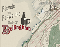 Bicycle to Breweries Map