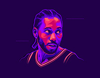 Kawhi Leonard - Illustration