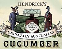 Hendrick's Unusual Australian Cucumber