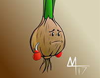 Onion Man (vectorized)