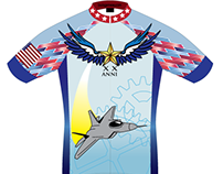 USAF RAGBRAI Cycling Kit Concept