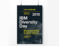 IBM Diversity Day Poster Design